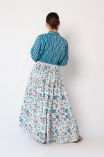 Island Maxi Dress Chrysanthemum
