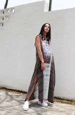 Baliza women´s Jaipur Dress Blue mix tie dye