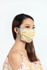 Mask in Yellow Wheat
