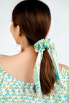 Scrunchie Blue and Green Lavender