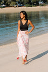 Black Rhiannon One Piece + Shells Sarong