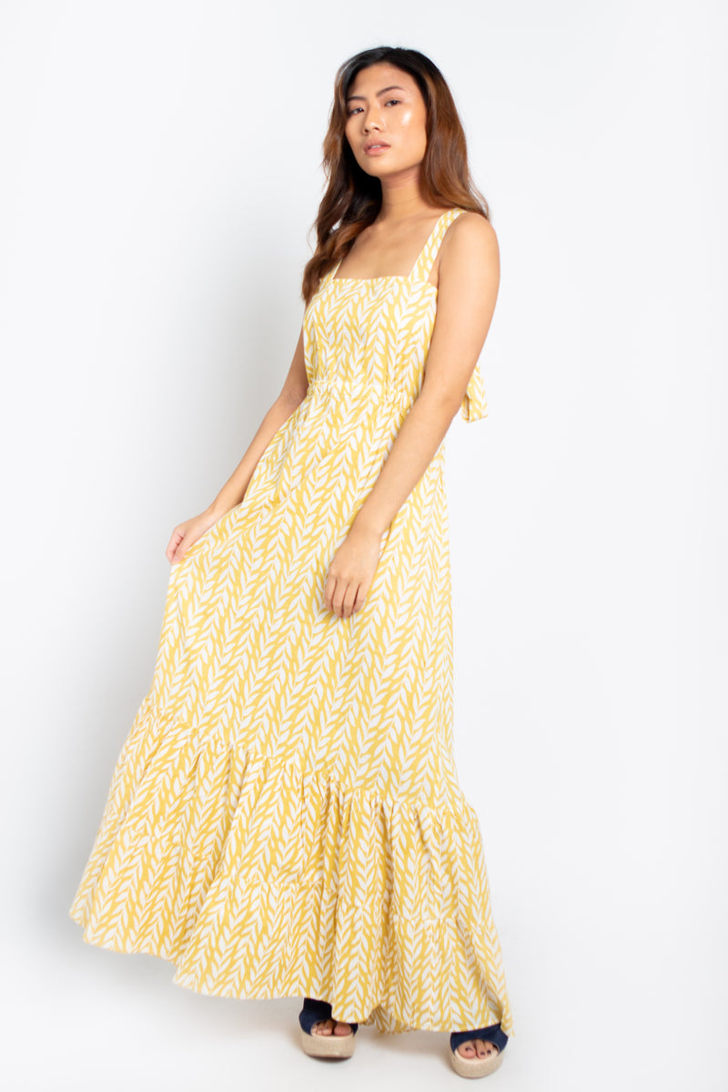 Baliza´s women Salsa dress Yellow Wheat