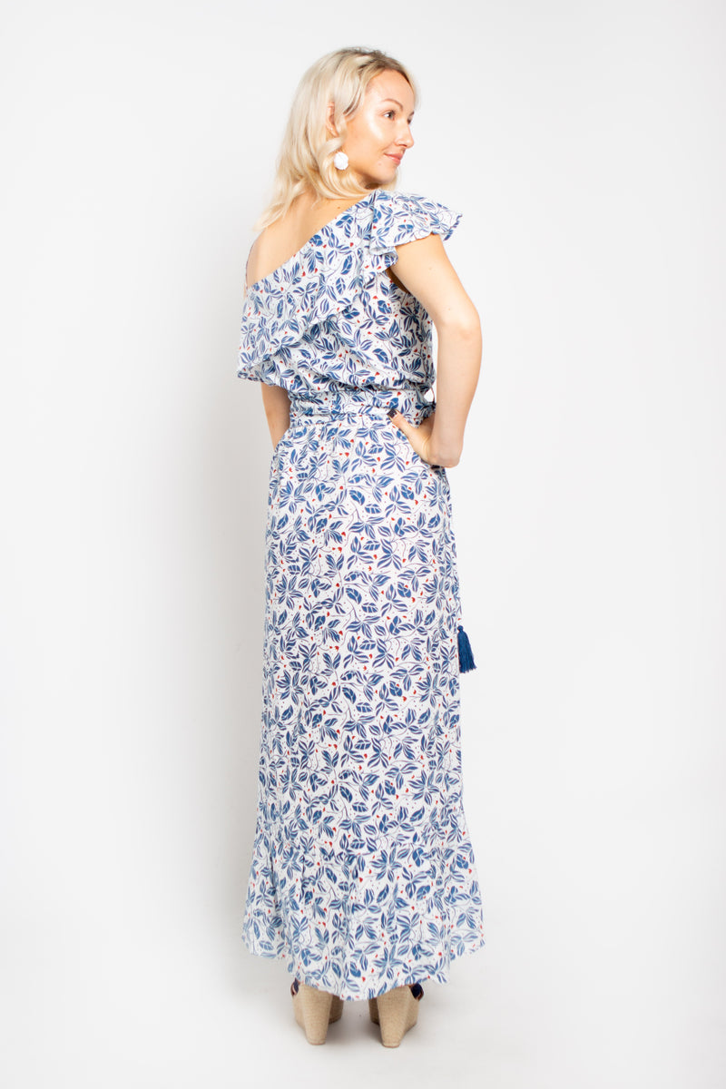 Island Maxi Dress Blue Orchid