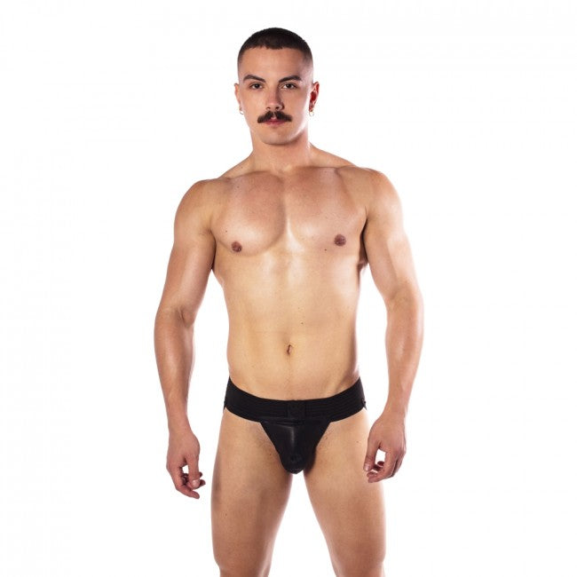 Prowler RED Hole Punch Jock - Black