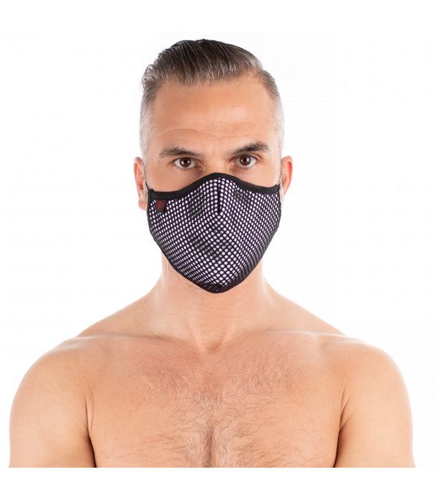TOF Paris Mesh Mask White/Black