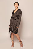 Tailored Silk Robe
