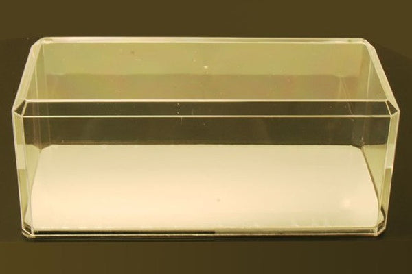 Crystal Clear Display Case with Mirror (1:18)