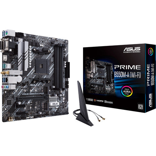 ASUS PRIME B550M-A WI-FI AM4 Micro-ATX Motherboard