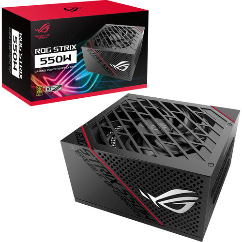 ASUS Republic of Gamers Strix 550W 80 Plus Gold Power Supply