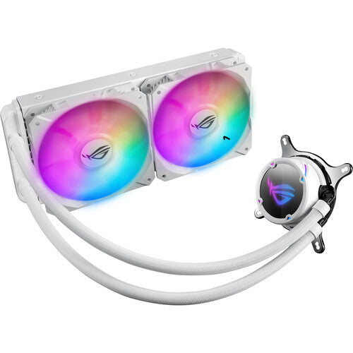 ASUS Republic of Gamers Strix LC 240 RGB Liquid CPU Cooler (White Edition)