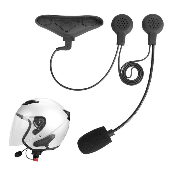 Avantree BTHS-HM100PS-BLK - Motorcycle Helmet Bluetooth Intercom Headset