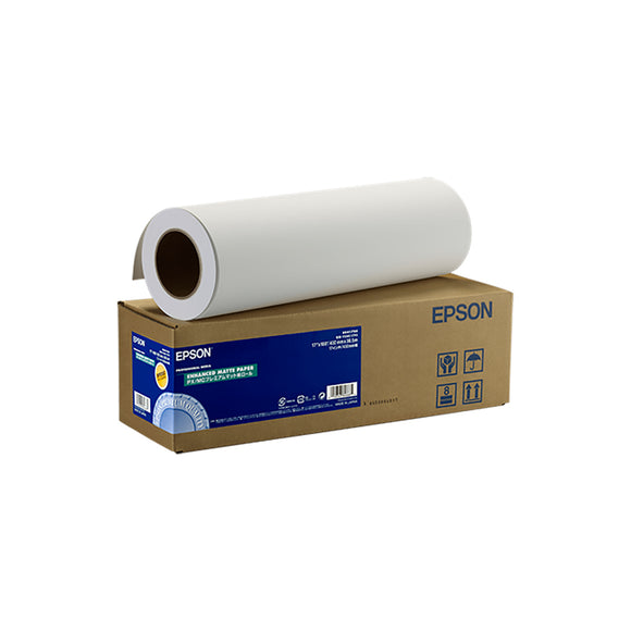 EPSON Enhanced Matte Paper (Rolls) (17 Inches x 30.5 Meters)