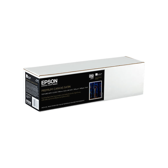 EPSON Premium Canvas Satin (Rolls) (44 Inches x 12 Meters)