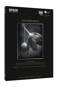 "EPSON Cold Press Bright 17"" X 22"" 25 Sheets"