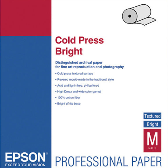 EPSON Cold Press Bright (Rolls)