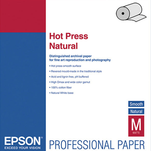 EPSON Hot Press Natural (Rolls)