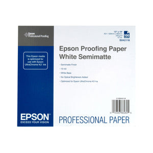 EPSON Proofing Paper White Semimatte A3++