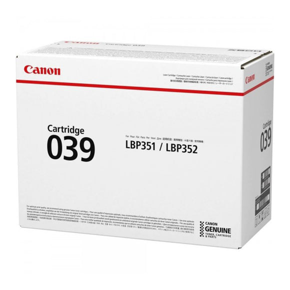 Canon CART 039 WW \ CART 039 H WW Original Laser Toner Cartridge