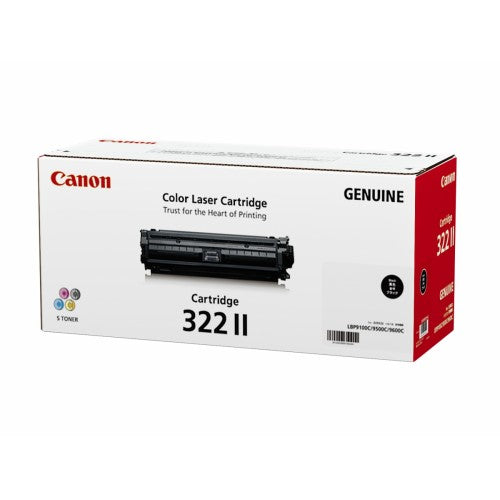 Canon CART 322 II Original Laser Toner Cartridge