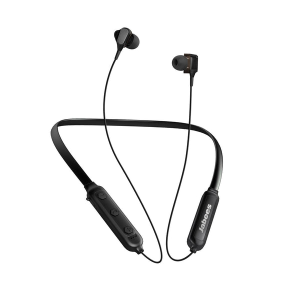 Jabees DuoBees - Bluetooth Neckband Headphones with Dual Driver
