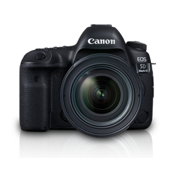 Canon EOS 5D IV (WG) w/24-70 L IS DSLR Camera
