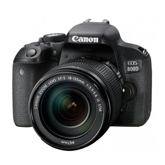 Canon EOS 800D (W) w/18-135 IS STM DSLR Camera
