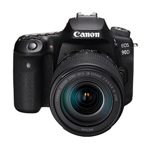Canon EOS 90D (W) w/18-135 IS USM DSLR Camera