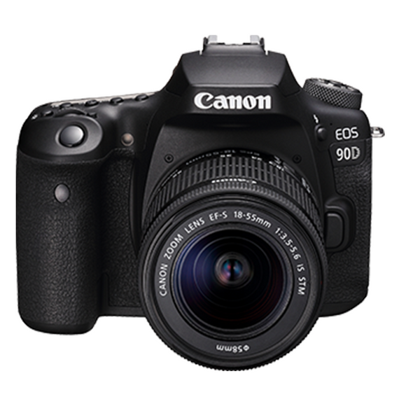 Canon EOS 90D (W) w/18-55 IS STM DSLR Camera