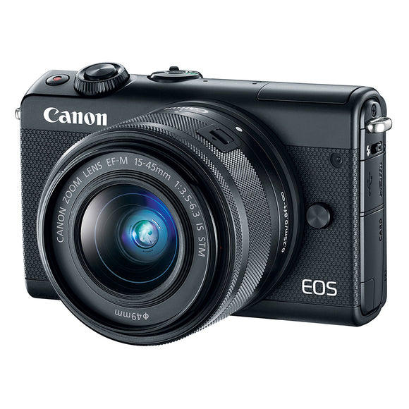 Canon EOS M100 EF-M15-45mm Mirrorless Camera