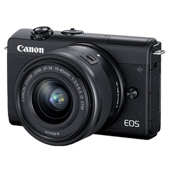 Canon EOS M200 15-45/22mm Mirrorless Camera