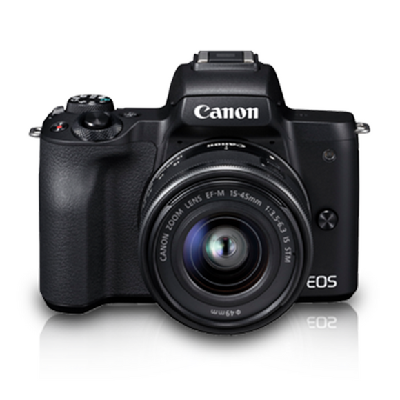 Canon EOS M50 EF-M15-45mm Mirrorless Camera