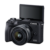 Canon EOS M6 Mark II 15-45mm Mirrorless Camera