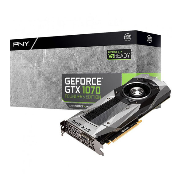 PNY Geforce GTX1070 Founders Edition