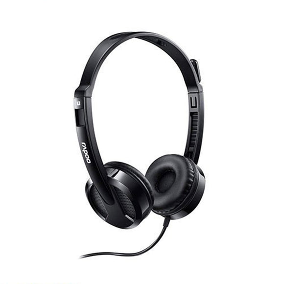 Rapoo H100 PLUS Wired Stereo Headset