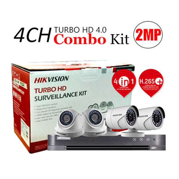 HIKVISION 2MP Lite Series Analog Kit