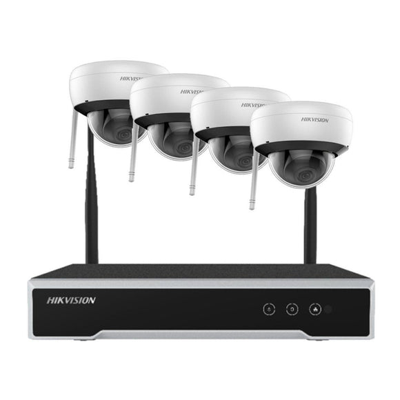 Hikvision Wireless Kit 4MP H.265 Dome Wi-Fi Kit NK44W1H-1T(WD)