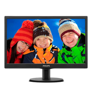 "Philips 15.6"" LCD monitor with LED backlight (163V5LSB23)"