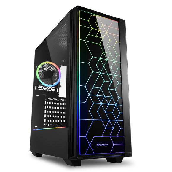 Sharkoon RGB LIT 100 Mid Tower Case