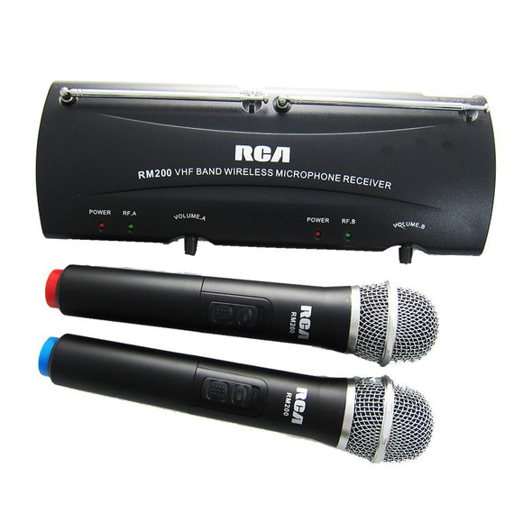 RCA RM200 - (Pair) PROFESSIONAL WIRELESS MICROPHONES