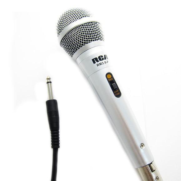 RCA RM 3.0-P PROFESSIONAL DYNAMIC MICROPHONES
