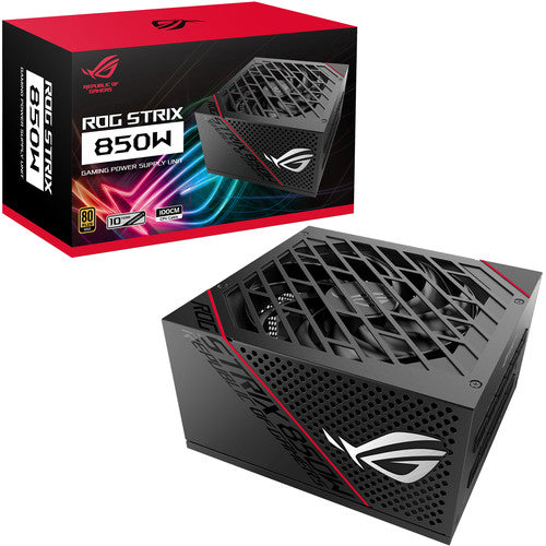 ASUS Republic of Gamers Strix 850G 850W 80 PLUS Gold Modular Power Supply (Black)