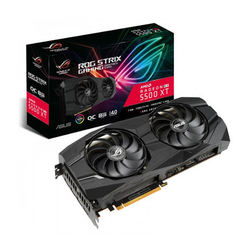 ASUS ROG Strix Radeon RX 5500 XT Gaming Graphics Card (ROG STRIX RX5500XT O8G)