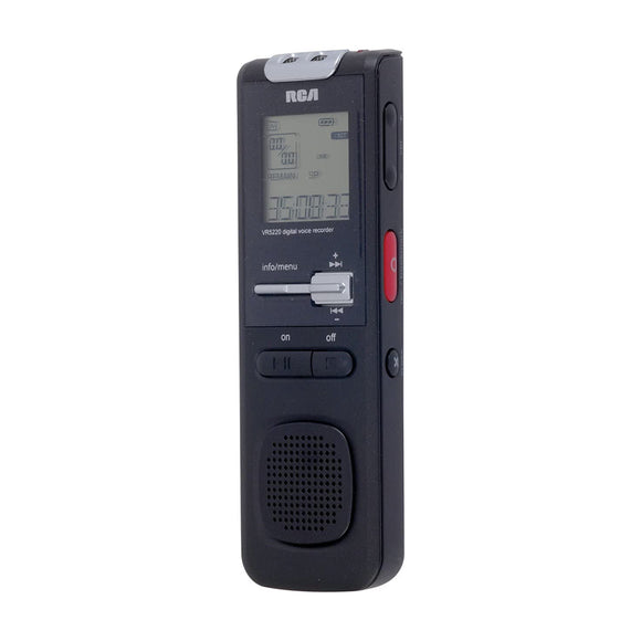 RCA VR 5182 - Compact Digital Voice Recorder 4GB