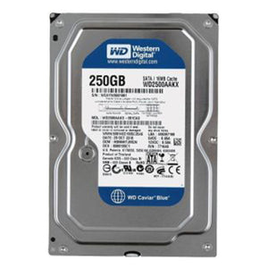 "Western Digital WD2500AAKX - 250 GB 7.2K RPM 16 MB Cache SATA 6 Gb/S 3.5"" Caviar Blue Hard Drive"