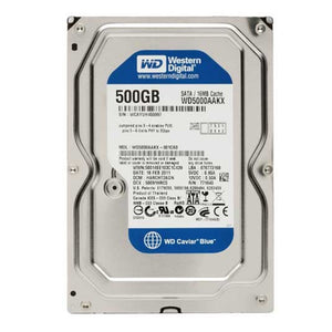 "Western Digital WD5000AAKX - 500GB 7.2K RPM SATA 3.5"" Hard Drive"