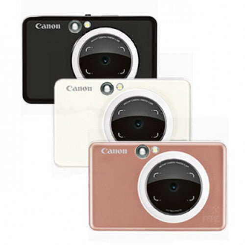 Canon iNSPiC [S] ZV-123A 2-in-1 Instant Camera Mini Photo Printer with Smartphone Connection
