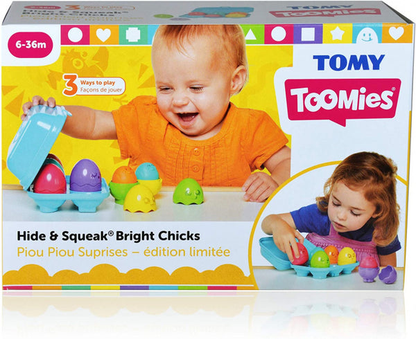 Tomy Kinderspel Bright Chicks 30 X 20 Cm Blauw