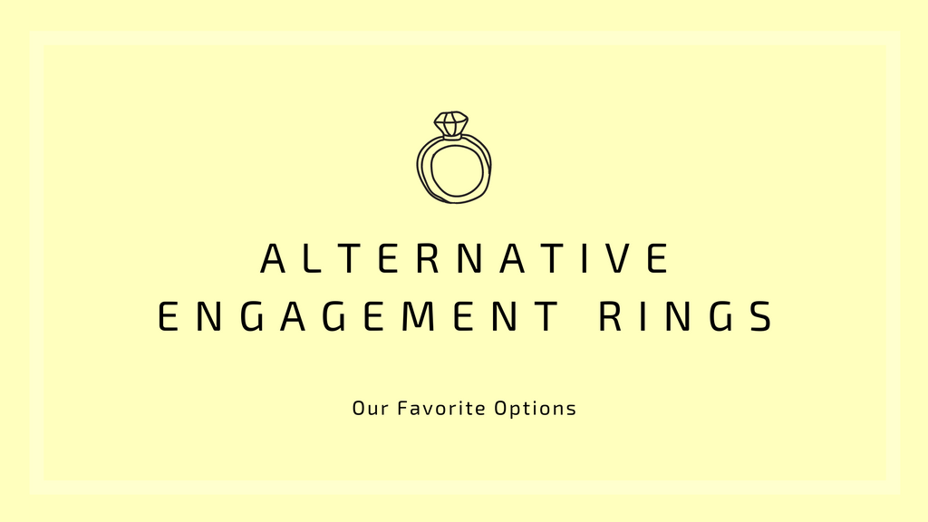 From Rough Cuts to Coloured Stones: Our Favourite Alternative Engagement Ring Options