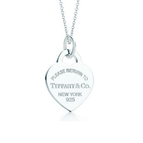 Return to Tiffany heart charm.