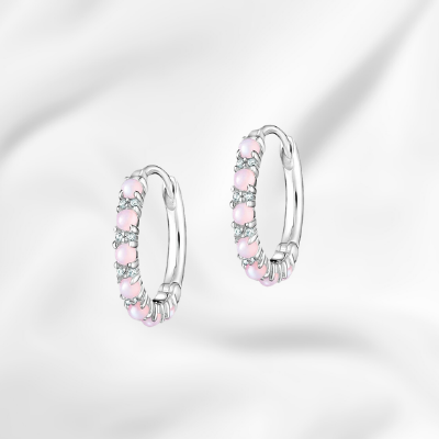 single hoop unique silver huggie clicker hoops with baguettes for sale ottawa